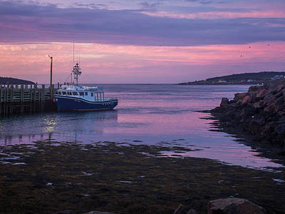 Photograph - Sunset Nova Scotia by Trace Kittrell