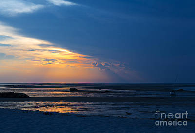 Cape Cod Sunset Photograph - Sunset On Cape Cod by Diane Diederich