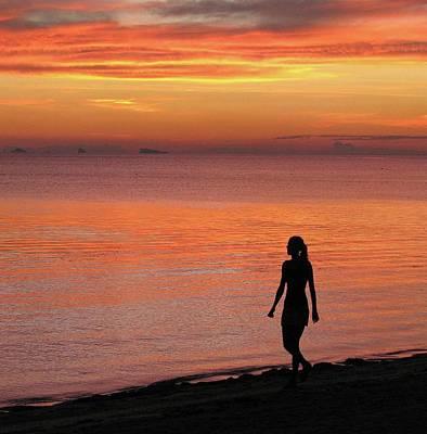 Photograph - Sunset On Kho Phangan by Duncan Davies