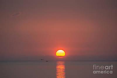 Photograph - Sunset On Lake Nipissing  by Cheryl Baxter
