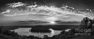 Photograph - Sunset On The Niangua by Dennis Hedberg