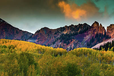 Photograph - Sunset Over The Anthracite Range by John De Bord