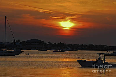 Photograph - 1- Sunset Over The Intracoastal by Joseph Keane