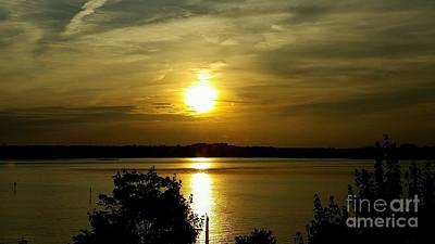 Photograph - Sunset Over The Potomac by Jimmy Clark