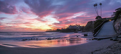 Photograph - Sunset Panoramic by Cliff Wassmann