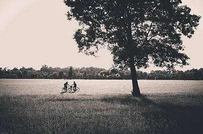Photograph - Sunset @park by Alfio Finocchiaro