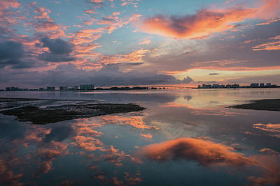 Photograph - Sunset Reflection by Jane Luxton
