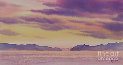 Painting - Sunset Splendor by James Williamson