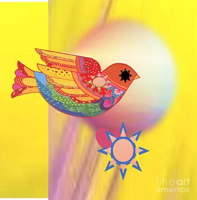 Painting - Bright Sunshine by Belinda Threeths