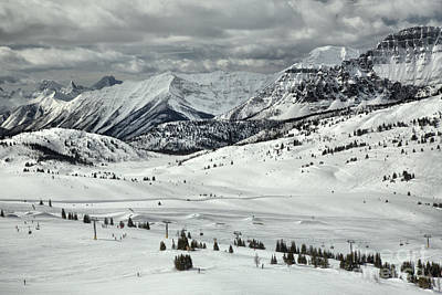 Photograph - Sunshine Village Resort Canadian Rocky Mountain Views by Adam Jewell