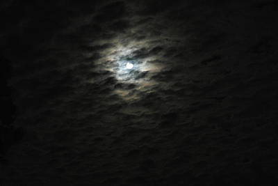 Photograph - super moon II by Irma BACKELANT GALLERIES