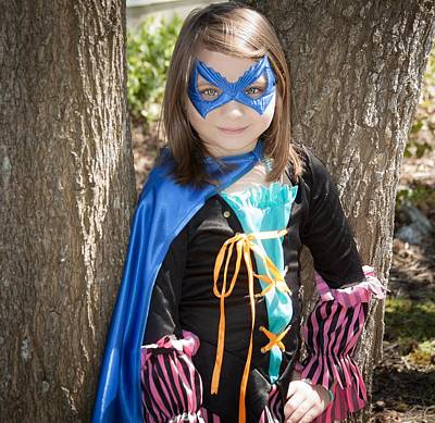 Photograph - Superhero Rylie by Theresa Johnson