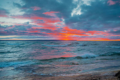 Photograph - Superior Sunset by Gary McCormick