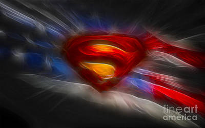 Photograph - Superman by Doc Braham