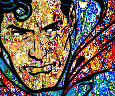 Mixed Media - Oh Clark by Tony Rubino
