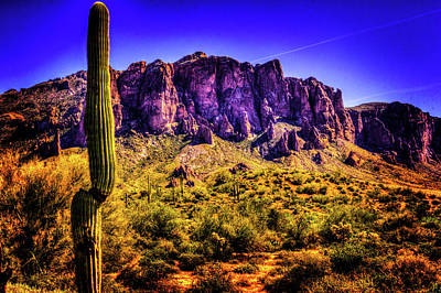 Photograph - Superstition Mountain by Roger Passman