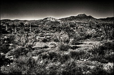 Photograph - Superstition Wilderness From The Apache Trail by Roger Passman