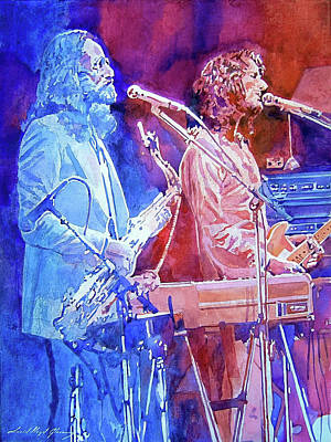 Painting - Supertramp by David Lloyd Glover