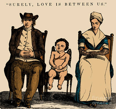 Photograph - Surely, Love Is Between Us, 1836 by Science Source