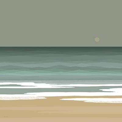 Digital Art - Surf by Val Arie