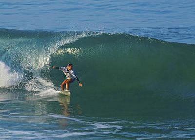 Photograph - Surfer Girl Malia Manuel by Waterdancer