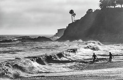 Photograph - Surfs Up by Cliff Wassmann