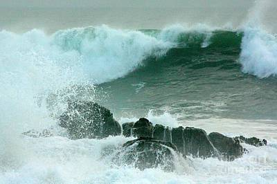 Photograph - Surf's Up by Frank Townsley
