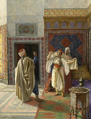 Painting - Surprised by Daniel Israel