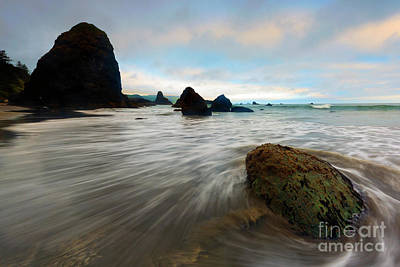 Photograph - Surrounded By The Tides by Mike Dawson