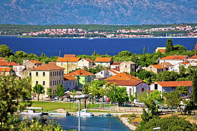 Photograph - Sutomscica Village And Zadar Channel View by Brch Photography
