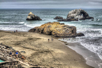 Photograph - Ocean Beach by SC Heffner