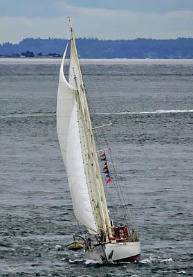 Photograph - Suva Under Sail by Rick Lawler