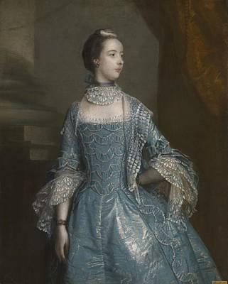Beckford Painting - Suzanna Beckford by Joshua Reynolds