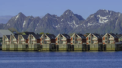 Photograph - Svolvaer Norway by Alan Toepfer