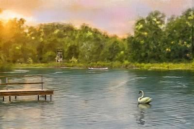 Swan Lake Original by Mary Timman