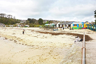 Photograph - Swanpool Beach Cafe Cornwall by Terri Waters