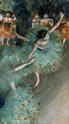 Degas Painting - Swaying Dancer by Edgar Degas