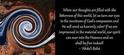 Sweetness Of God's Compassion Art Print
