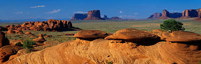 Sandstone Formation Photograph - Swirling Sandstone Formations, Monument by Panoramic Images