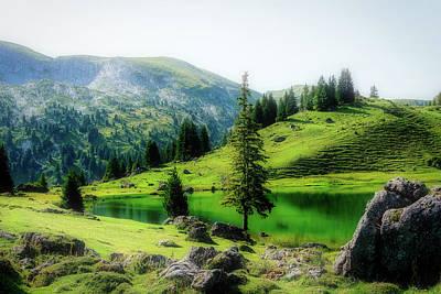 Photograph - Swiss Mountain Lake by Pixabay