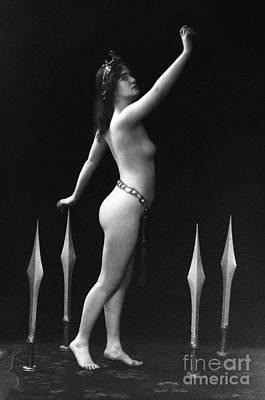 Tiara Painting - Sword Dance, C1920 by Granger