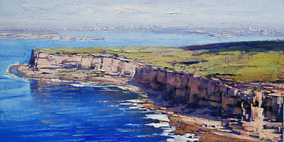 Boat Harbour Wall Art - Painting - Sydney Harbour by Graham Gercken