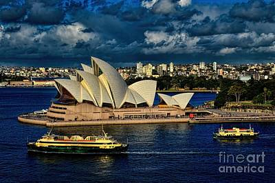 Photograph - Sydney Opera House Australia by Diana Mary Sharpton