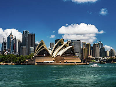 Photograph - Sydney Opera House by Walt Sterneman