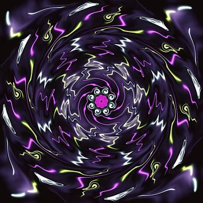 Wall Art - Digital Art - Symmetry 11 by David G Paul