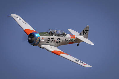 Photograph - T6 At Reno Air Races by John King