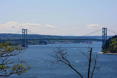 Photograph - Tacoma Narrows Bridge by Tikvah's Hope