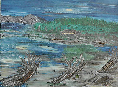 Painting - Taft Beach by Suzanne Surber