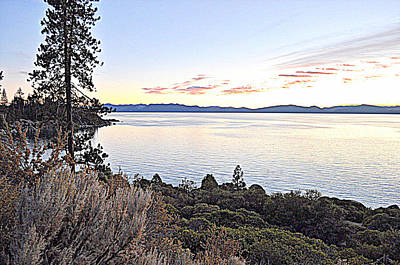 Photograph - Tahoe Shoreline by Lynn Bawden