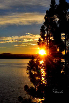 Photograph - Tahoe Sunset by Lynn Bawden